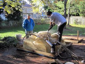 Hot Tub Demolition Removal Destruction Pickup Northern Virginia