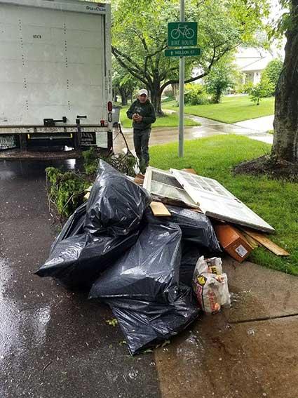 McLean VA Cleanup Junk