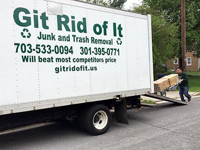 Truck Load Junk Burke VA